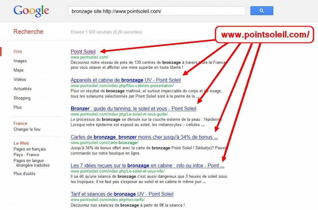 requète google